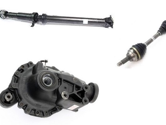 Axles and Driveshafts image