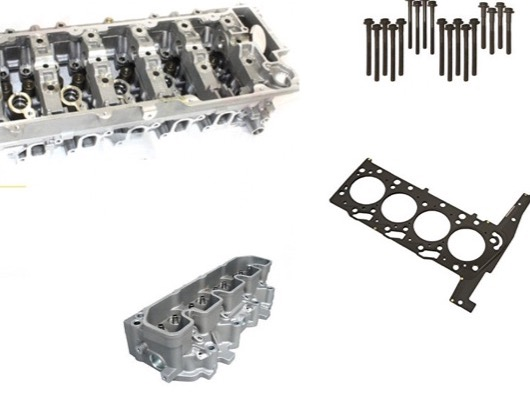Cylinder Head Block and Sump