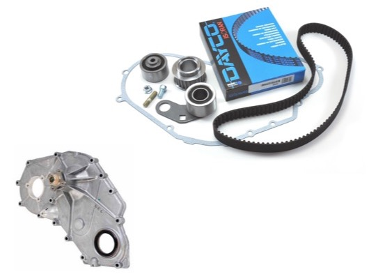 Front Cover and Timing Belt image