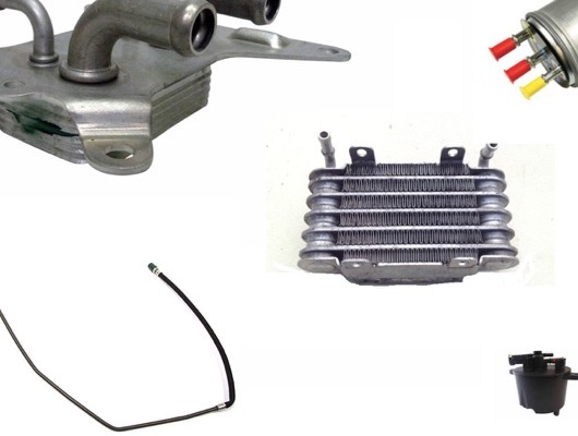 Fuel Cooler, Fuel Lines and Fuel Filters image