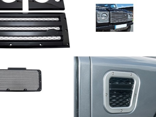 Grilles and Vents for Defender