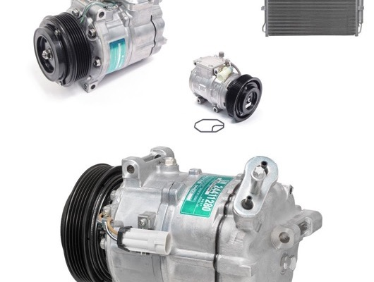 Air Con Compressor and Condensor image