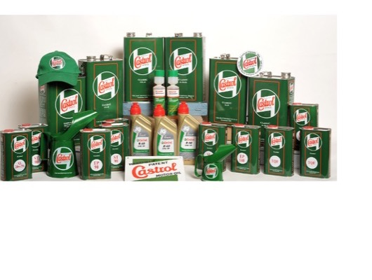 Castrol Classic Oils Merchandise