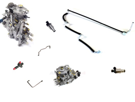 Fuel Pump Injectors and Pipes image