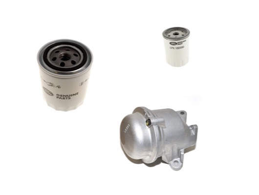 Oil Filter Housing and Oil Pump