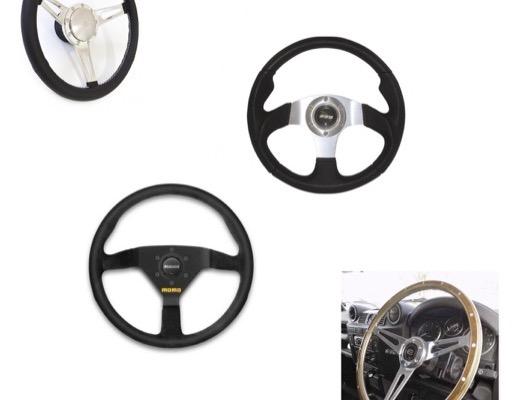 Steering Wheel and Bosses image