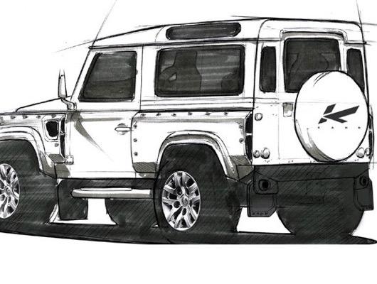 Kahn Design for Land Rover Defender image