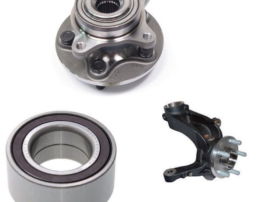 Front Wheel Bearings and Knuckle image