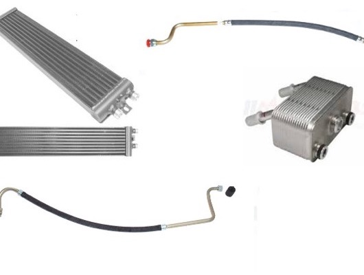 Oil Cooler and Pipes image
