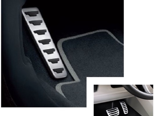 Pedal Covers and Armrests image