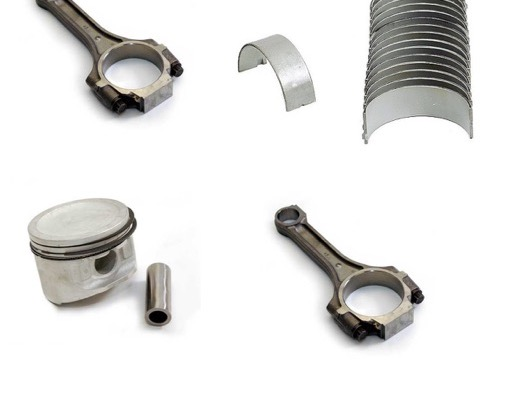 Piston Con Rod and Bearings image