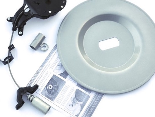 Space Saving Spare Wheel, Winch and Protection image