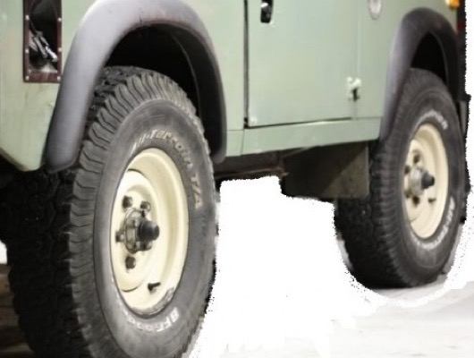 Wheel Arches for Land Rover Series