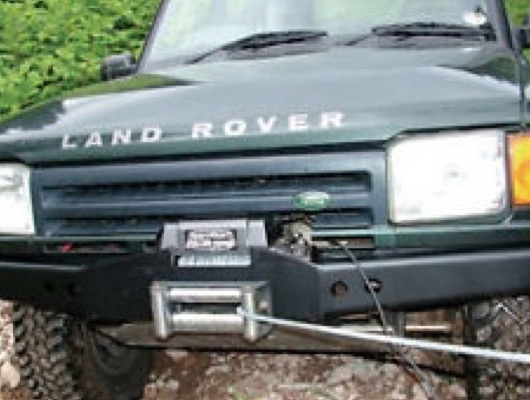 Winch Bumper and Winch Kits image