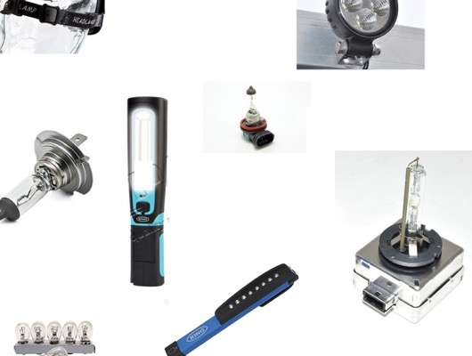 Driving Lights - Spot Lamps - Bulb Kits and Worklamps