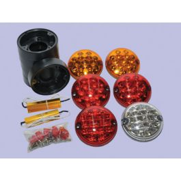 Da1143 Led Rear Lamp Kit In Nas Style Upgrade Kit For