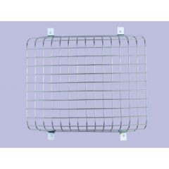 345985 - Front Zinc coated Lamp Guards - Mesh Style - For Defender and Series - Comes as Single Lamp Guard