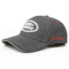 LDCH667GMA - Land Rover Logo Cap in Grey Marl - With Terrain Response Logo on Side