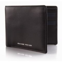 51LDLG669BKA - Range Rover Leather Wallet - in Black