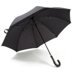 51LDUM913BKA - Range Rover Premium Umbrella with Leather Handle