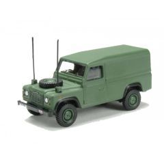 76DEF003 - Die-Cast Land Rover Defender 110 - Military - Scale 1:76