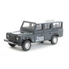 76DEF013 - Land Rover Defender 1:76 Model - Oxford Diecase - RAF Station Wagon