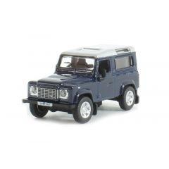 76LRDF002 - Die-Cast Land Rover Defender 90 in Tamar Blue - Scale 1:76