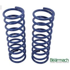 BA2256 - Front Range Rover Classic Springs - Bearmach - 50mm Lift with 133lbs Rating - Pair Heavy Duty - Off Road Use Only
