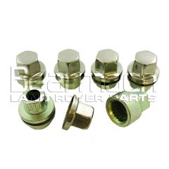 STC8843AA - Defender Locking Nuts With Key For Alloy Wheels - Set Of 5 - Will Fit Both Defender and Discovery 1