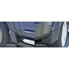 LR4M250 - Front and Rear Mudflap Set for Discvery 3 & 4 - Full Vehicle Set of Four (Colour-Coded Bumper)