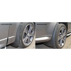 RRSM250 - Full Vehicle Mudflap Set - Front and Rear Sets - Fit Up To 2010 Style Range Rover Sport