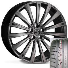 CHAYTON-MBK-TYRE - Wheel and Tyre - Hakwe Chayton Alloy Wheel in Matt Black