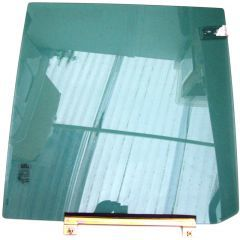 CVB102630 - Left Hand Rear Door Glass For Discovery 2 - for TD5 or V8 Disco 2 - With Sundym Glass (CLEARANCE ITEM - ONE LEFT)