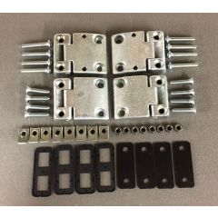 DA1069 - Full Front Door Hinge Kit for Defender and Land Rover Series (Early Style Door Hinges)