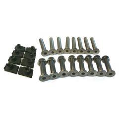 DA1132 - Defender Stainless Steel Bolt Kit - Front Door Hinge Set