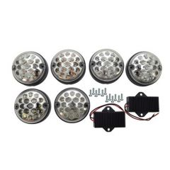 DA1143CL - Clear LED Rear Lamp Kit in NAS Style - Upgrade Kit For Defender And Series