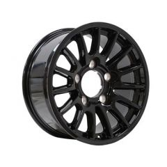 DA1346 - Defender Bowler Wheel in Black - Lightweight, High-Strength - 18 x 8 - Will Fit Defender, Discovery 1 and Range Rover Classic