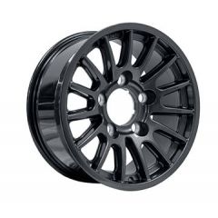 DA1347 - Defender Bowler Wheel in Anthracite - Lightweight, High-Strength - 18 x 8 - Will Fit Defender, Discovery 1 and Range Rover Classic