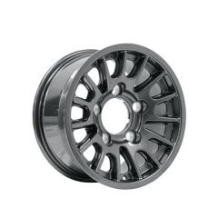 DA1349 - Defender Bowler Wheel in Anthracite - Lightweight, High-Strength - 16 x 8 - Will Fit Defender, Discovery 1 and Range Rover Classic