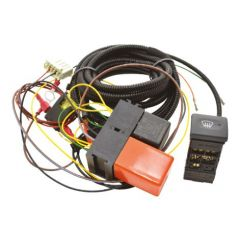 DA1401 - Defender Heated Windscreen Wiring Kit - Comes with Genuine Land Rover Switch - For OEM Style Windscreen