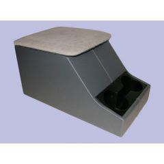 DA2035GREY - XS Style Defender Cubby Box - Dark Grey Base With Light Grey Top - Can Also Be Fitted to Series
