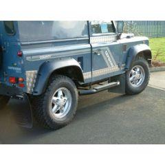 "DA2366 - Extreme Off Road Defender Wheel Arch Kit - 2""  Wider - By Britpart"