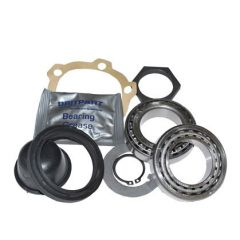 DA2379 - Front Wheel Bearing Kit for Land Rover Defender up to KA Chassis Number - Wheel Bearings, Flange Gasket, Hub Seals, Hub Cap and Lock Tabs