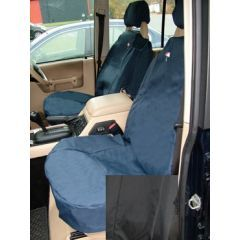 DA2800BLACK - Discovery 2 Front Seat Covers In Black - Washable, Waterproof and Well-Fitted (Doesn't Fit Leather Seats or Adventurer Seats)