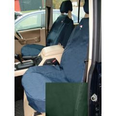 DA2800GREEN - Discovery 2 Front Seat Covers In Green - Washable, Waterproof and Well-Fitted (Doesn't Fit Leather Seats or Adventurer Seats)