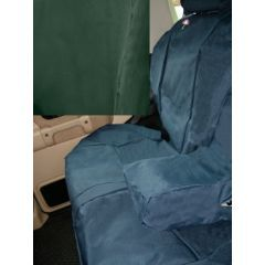 DA2801GREEN - Discovery 2 Rear Seat Covers In Green - Washable, Waterproof and Well-Fitted
