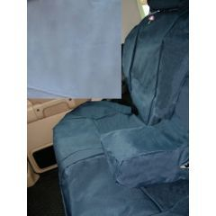DA2801GREY - Discovery 2 Rear Seat Covers In Grey - Washable, Waterproof and Well-Fitted