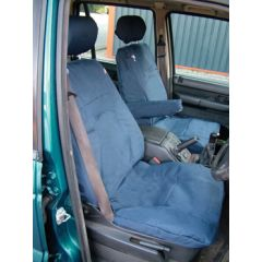 DA2805GREEN - Range Rover P38 Front Seat Covers In Green