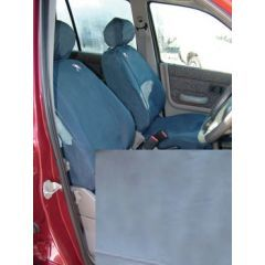 DA2811GREY - Front Freelander 1 Seat Covers In Grey (5 Door) - Fully Washable, Waterproof and Well-Fitted