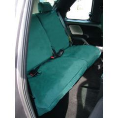 DA2813GREEN - Rear Freelander 1 Seat Covers (60/40 Split Without Armrest) In Green - Fully Washable, Waterproof and Well-Fitted